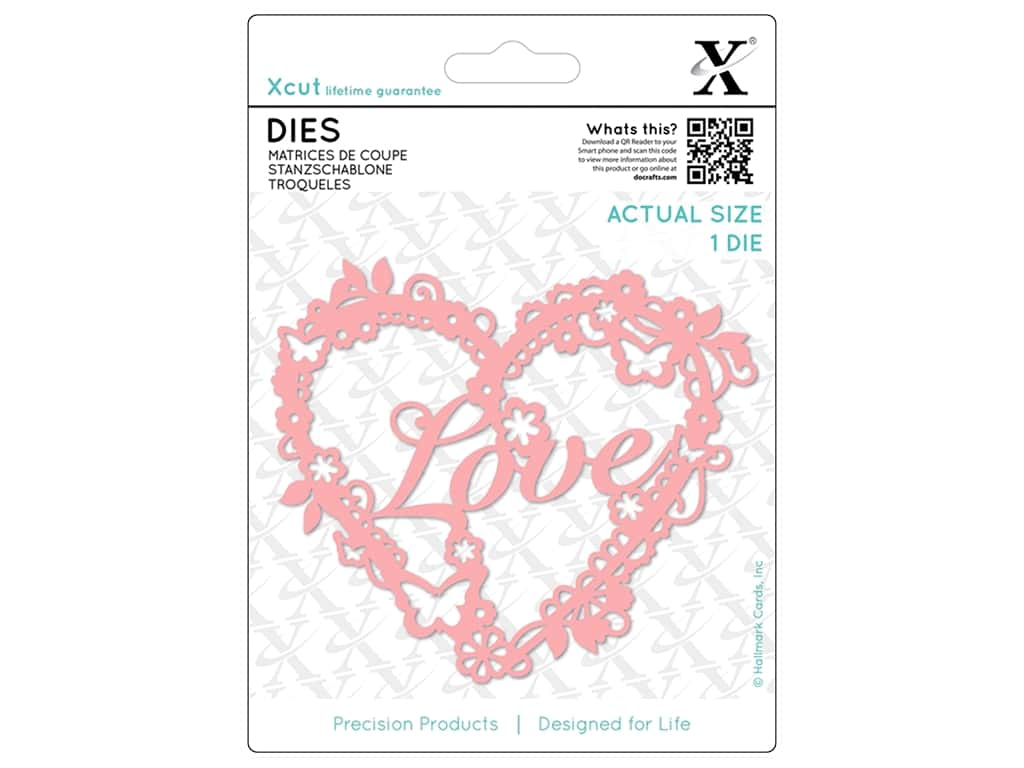 Docrafts Xcut Die Love Heart