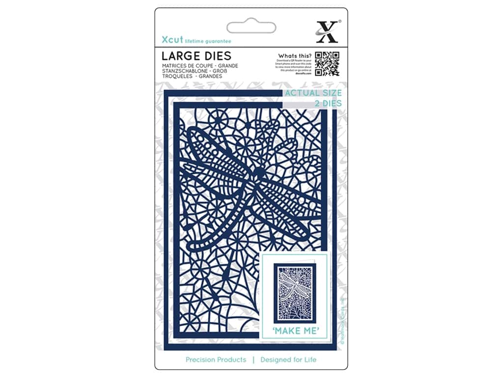 Docrafts Xcut Die Lace Dragonfly