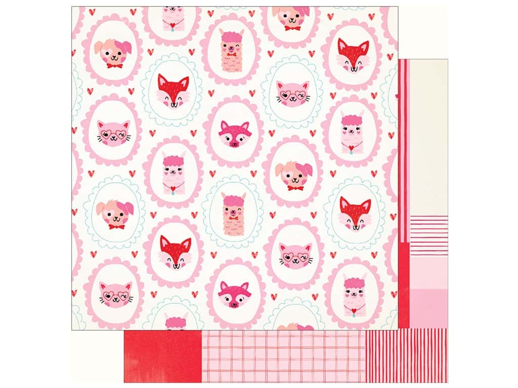Crate Paper Collection Main Squeeze Paper 12 in. x 12 in. Cutie (25 pieces)