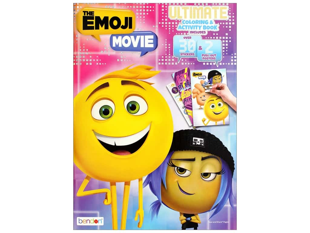Bendon Ultimate Coloring & Activity Book Emoji Movie