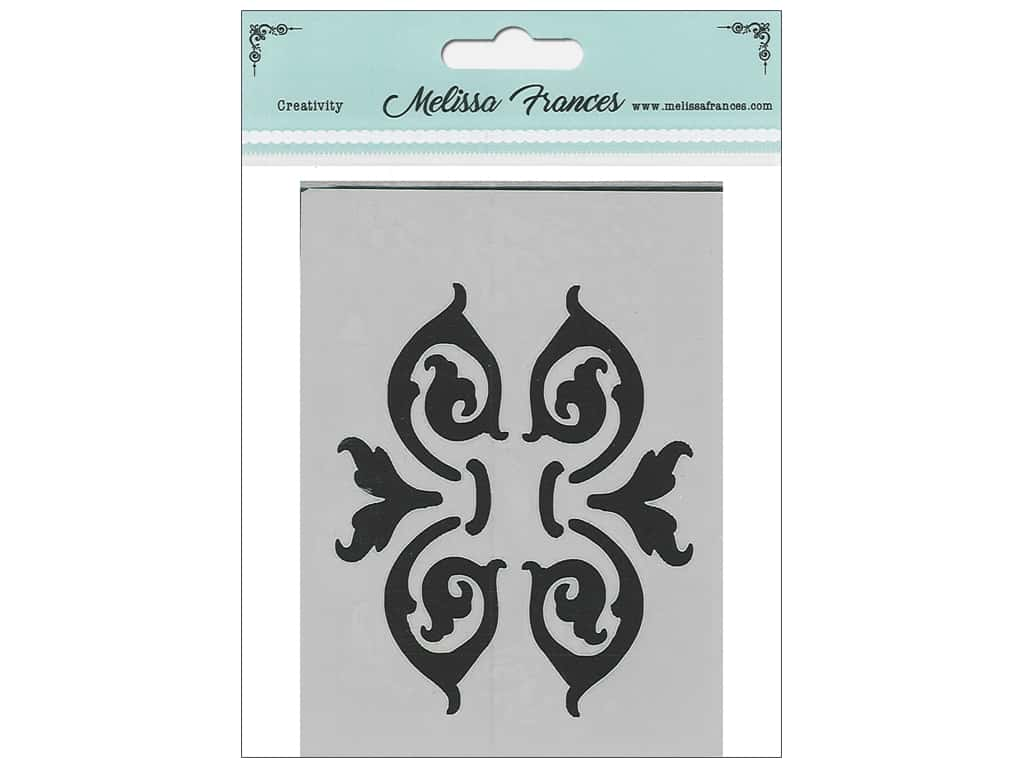 Melissa Frances Stencil 3 x 4 in. Baroque Brackets