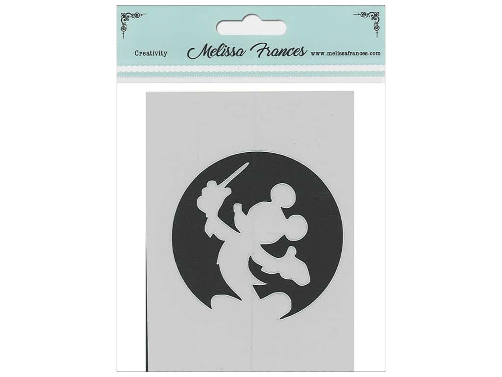Melissa Frances Stencil 3 x 4 in. Mouse Wand