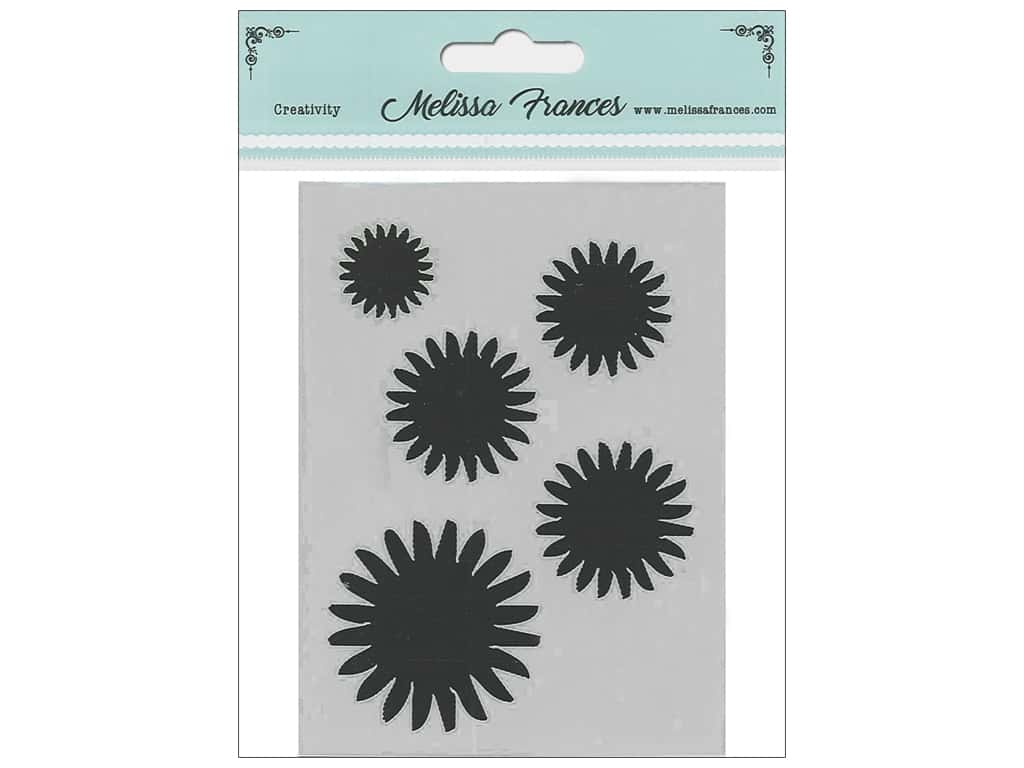 Melissa Frances Stencil 3 x 4 in. Sun Burst