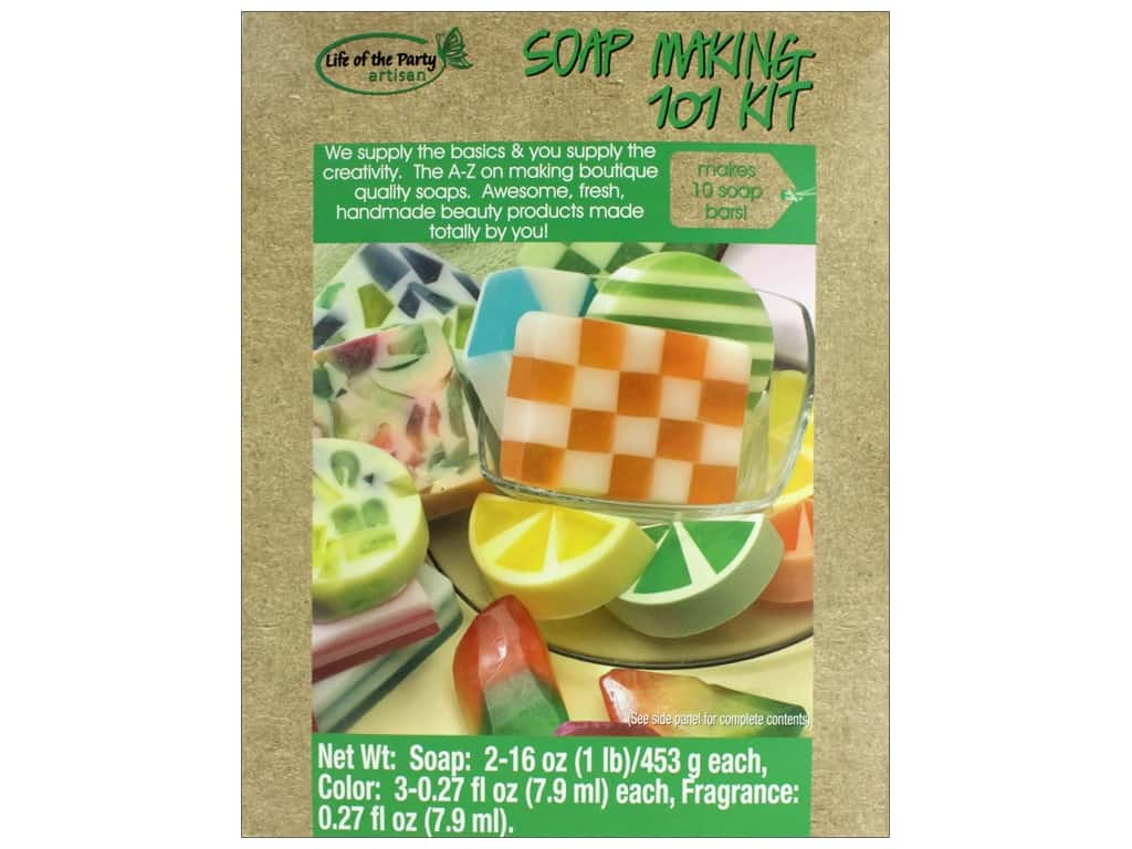Life Of The Party Soap Making Kit 101