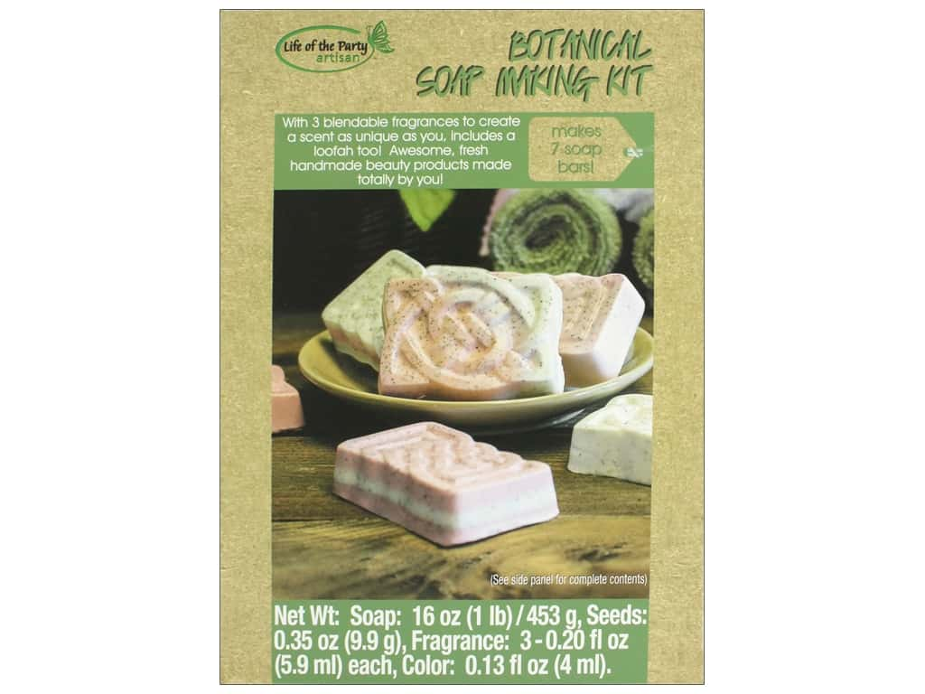 Life Of The Party Soap Making Kit Botanical Bar