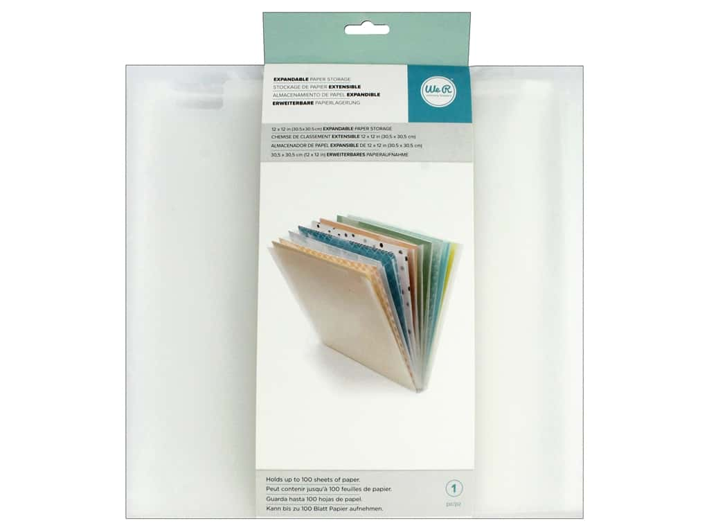 We R Memory Keepers Expandable Paper Storage
