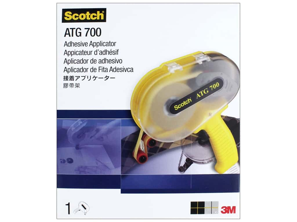 Scotch Adhesive Transfer Tape ATG 700 Dispenser