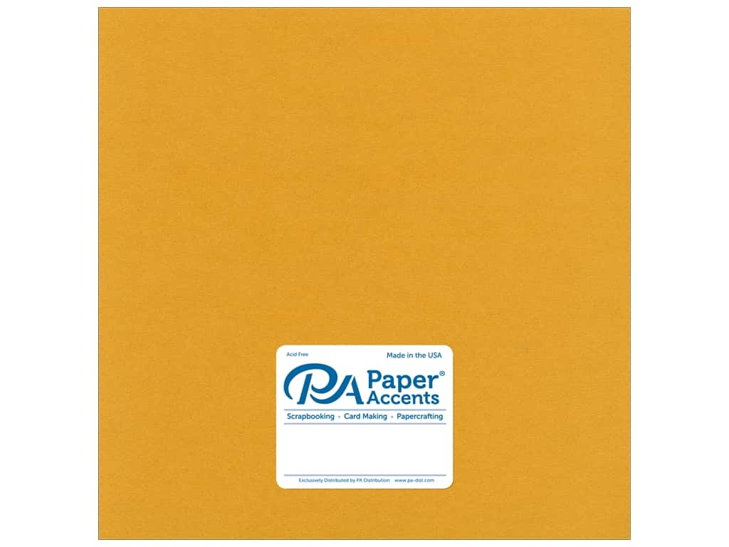 Paper Accents Cardstock 12 x 12 in. Pearlized 24kt Gold 25 pc.