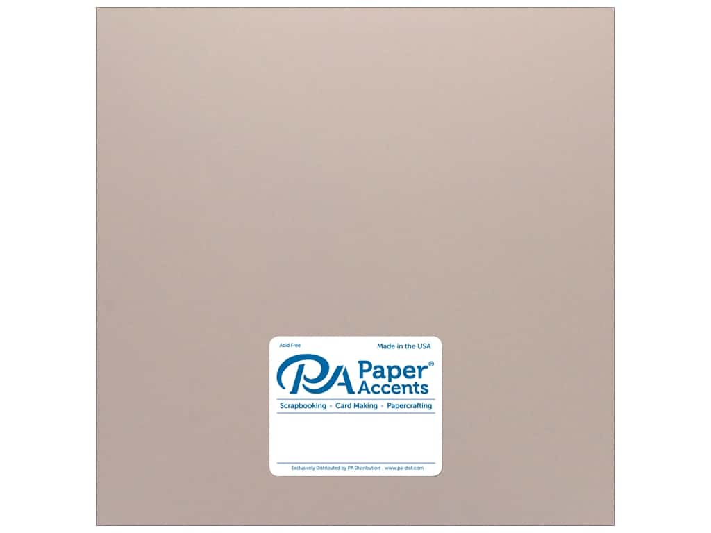 Paper Accents Paper Pearlized 12 in. x 12 in.  80 lb Rose Gold (25 sheets)