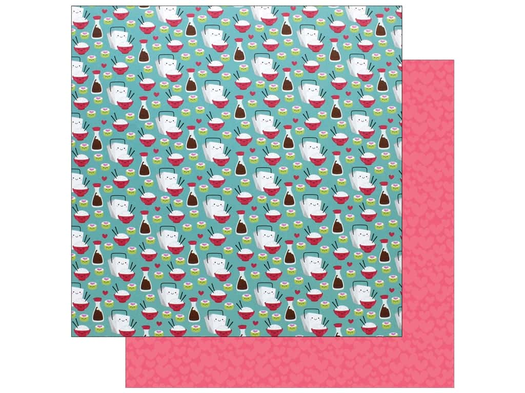 """Doodlebug So Punny Paper 12""""x 12"""" Soy Happy (25 pieces)"""