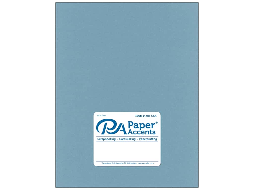 Paper Accents Cardstock 8 1/2 x 11 in. Smooth Evening Surf 25 pc.