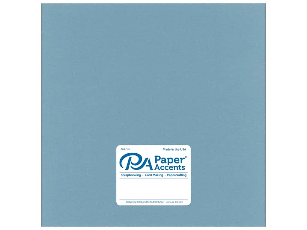 Paper Accents Cardstock 12 x 12 in. Smooth Evening Surf 25 pc.