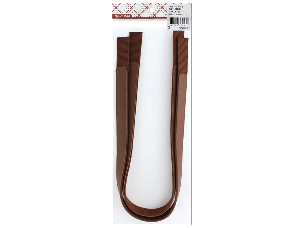 Inazuma Handles Leather Like Machine Sew Tape 24 in. Brown