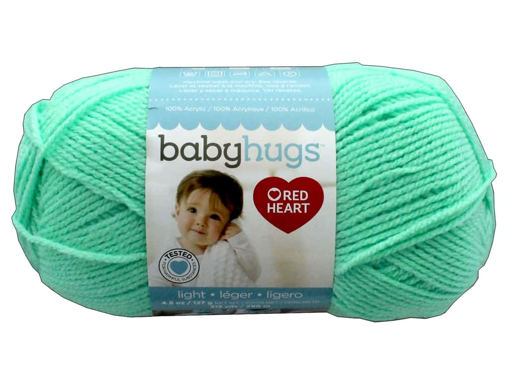 Red Heart Baby Hugs Light Yarn 247 yd. #3625 Sprout
