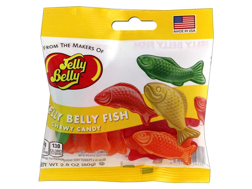 Jelly Belly Confections 2.8 oz Chewy Fish