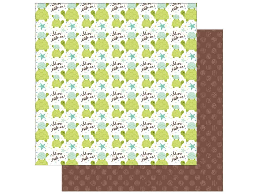 Echo Park Collection Sweet Baby Boy Paper  12 in. x 12 in. Little One (25 pieces)