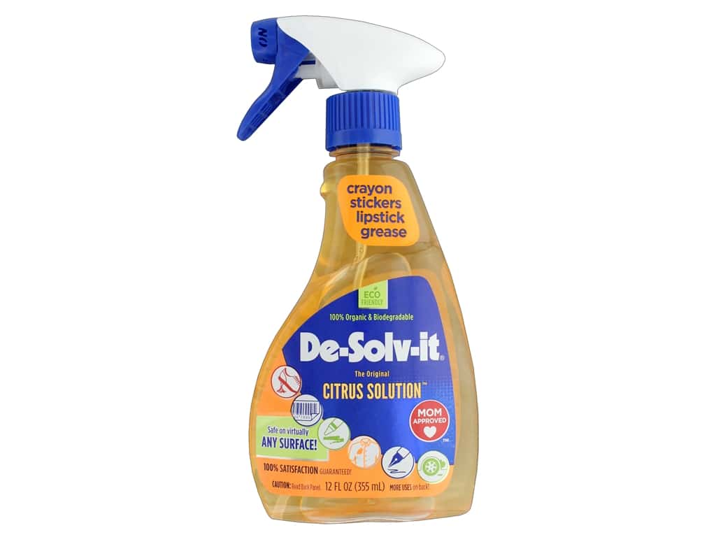 De Solv It Original Citrus Solution 12 oz