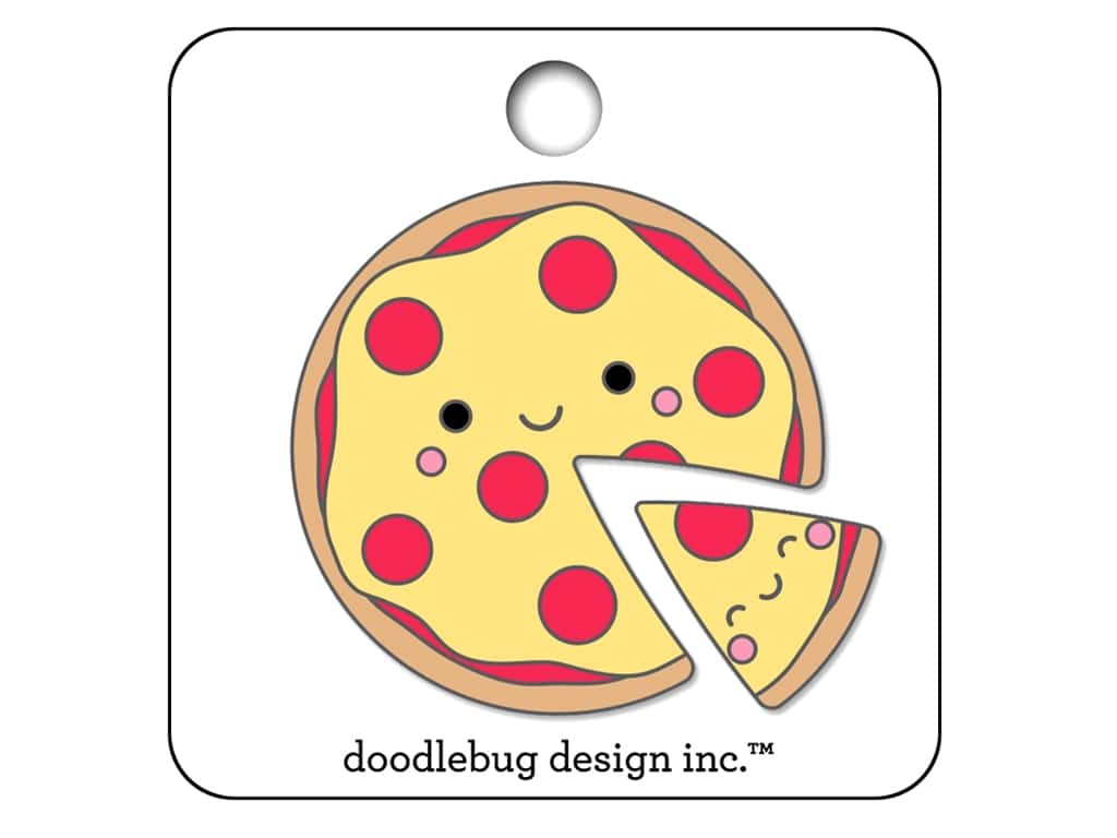 Doodlebug So Punny Collectible Pin Pizza Pals