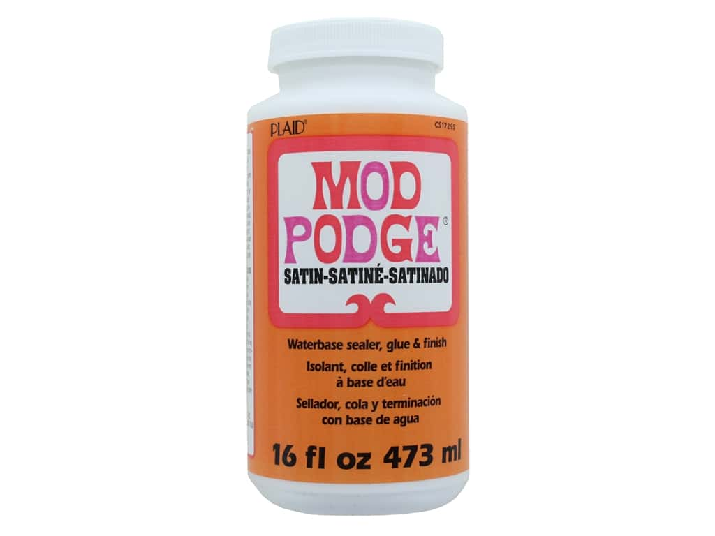 Plaid Mod Podge Satin 16 oz