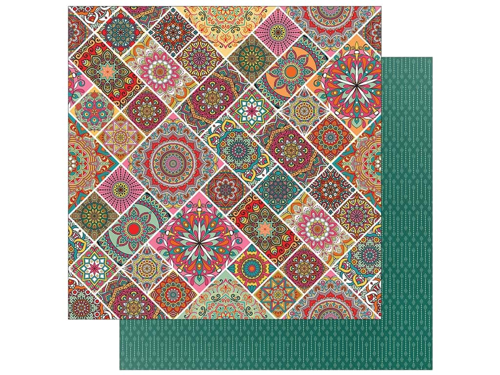 Photo Play Paprika Paper 12 in. x 12 in. Mandalas (25 pieces)
