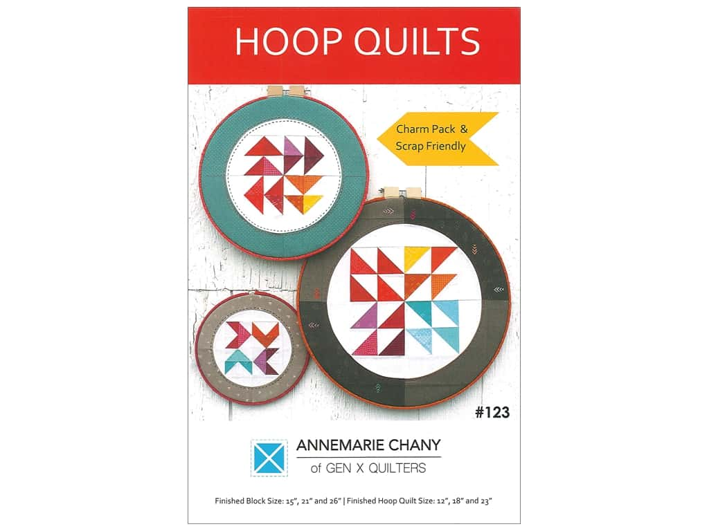 AnneMarie Chany Hoop Quilts Pattern