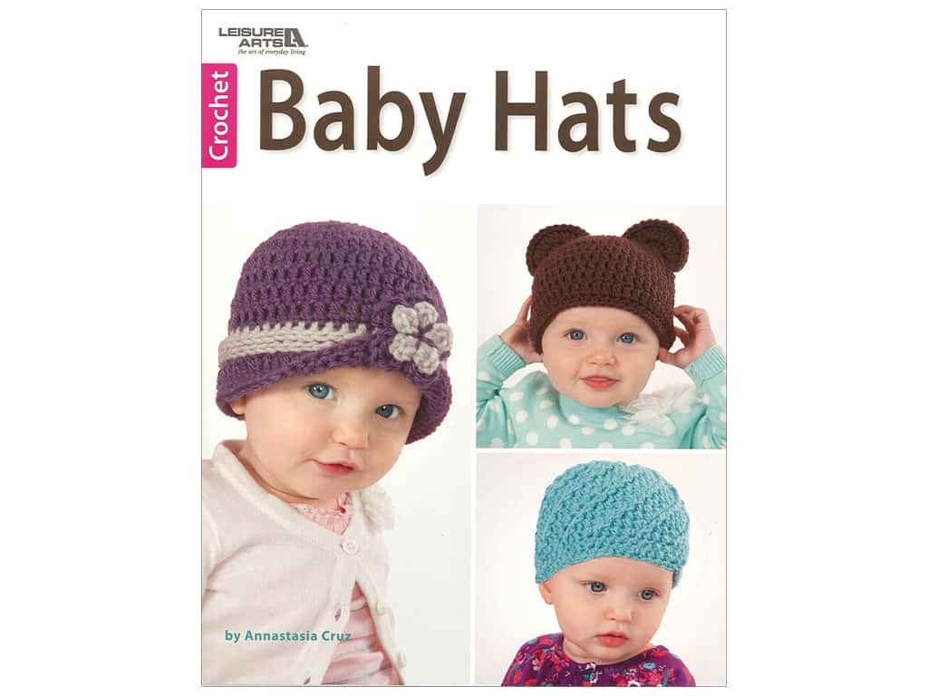 Leisure Arts Baby Hats Book