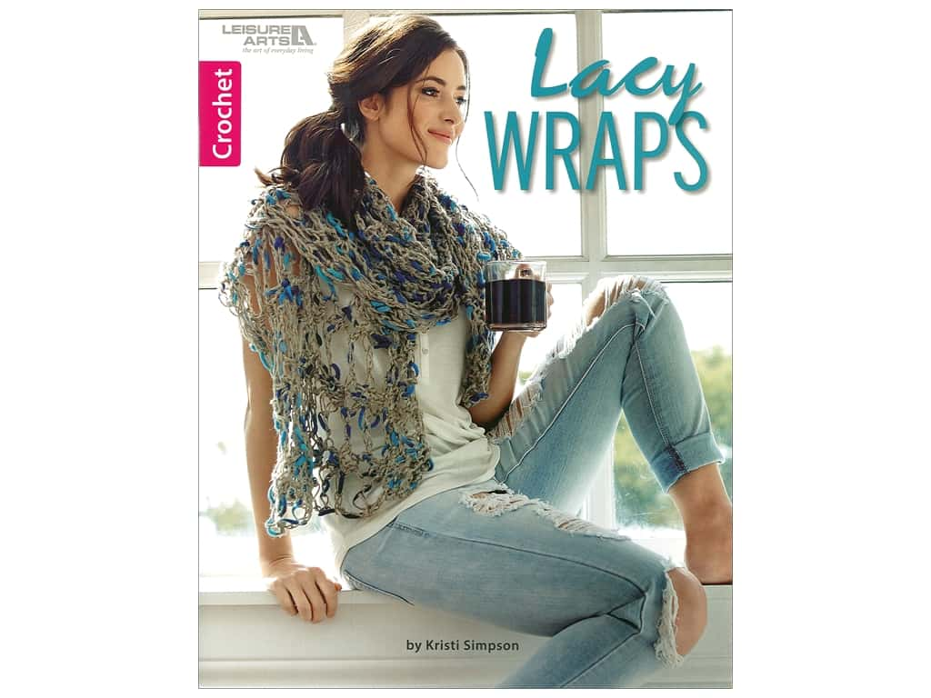 Leisure Arts Lacy Wraps Book