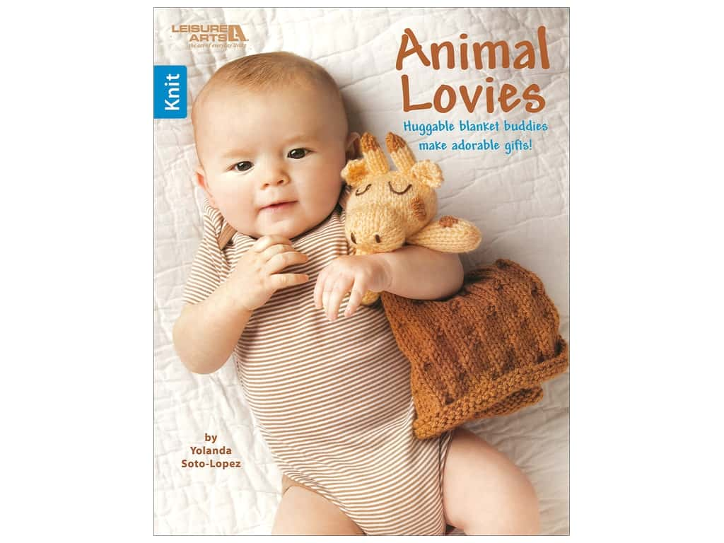 Leisure Arts Animal Lovies Book