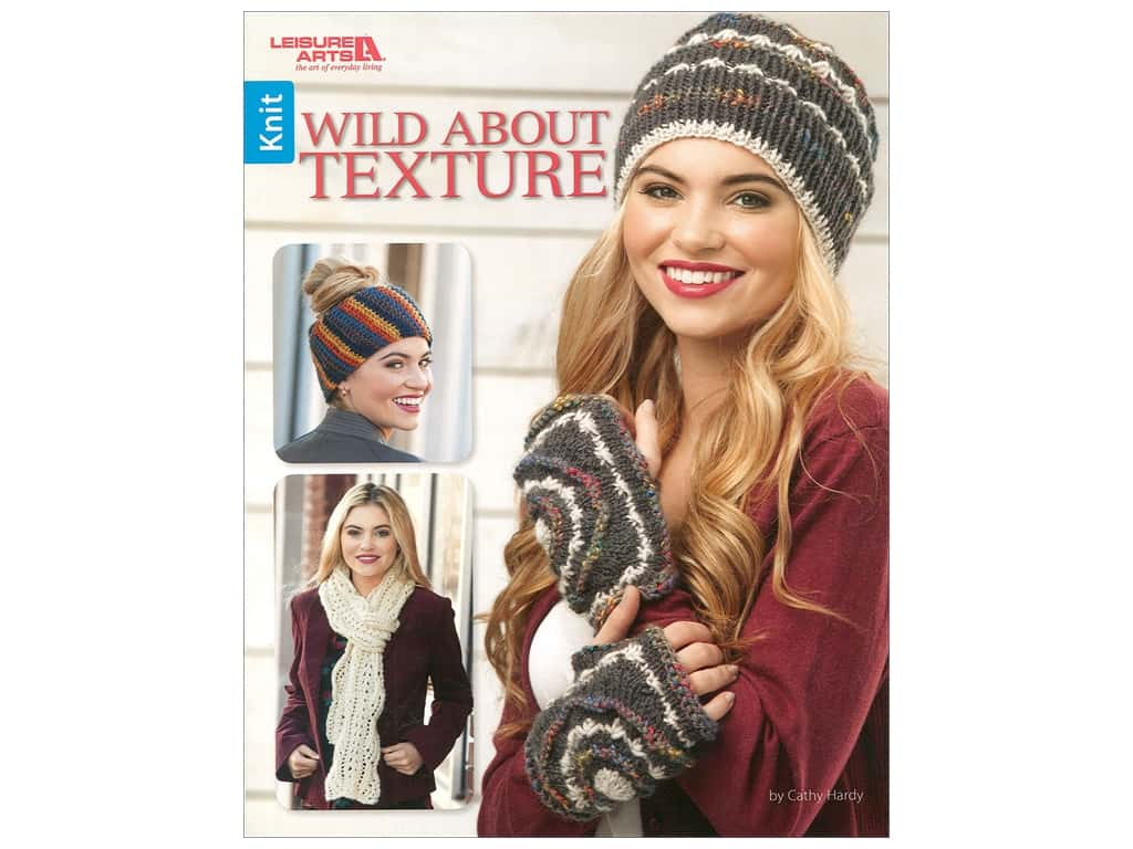 Leisure Arts Wild About Texture Book