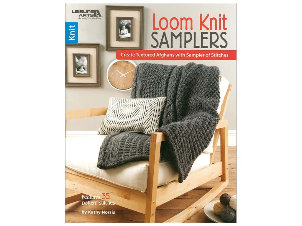 Leisure Arts Loom Knit Samplers Book