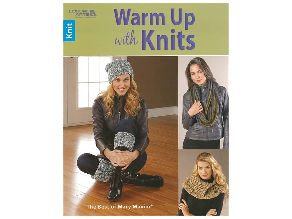 Leisure Arts Warm Up With Knits Book