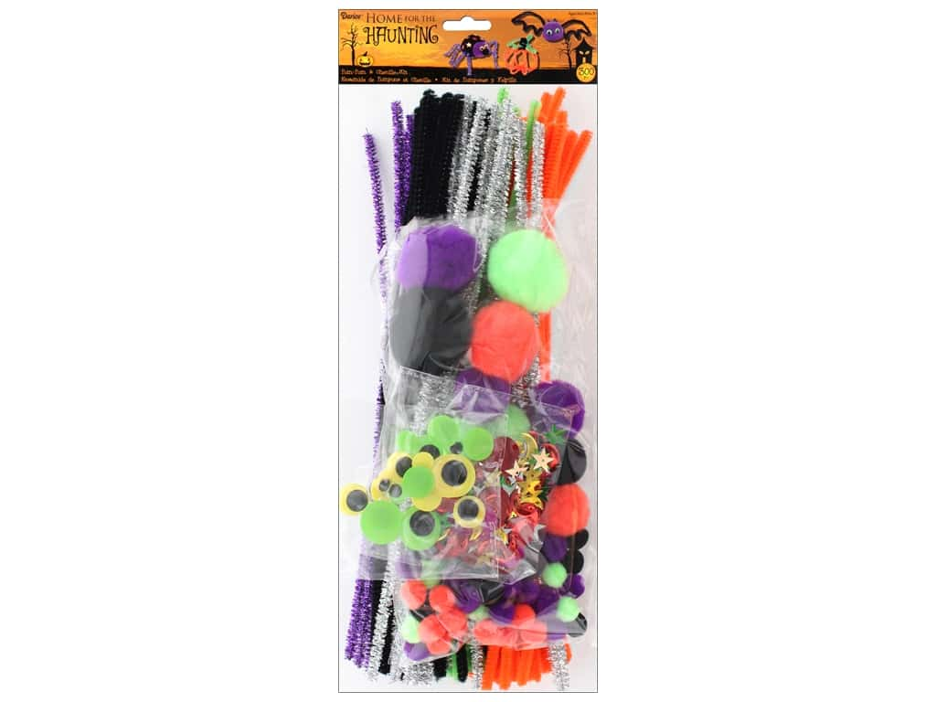 Darice Jumbo Craft Pack 300 pc. Halloween