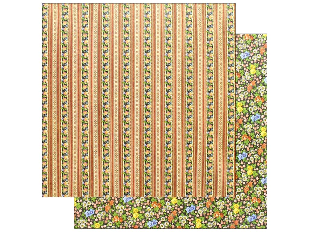 Graphic 45 Collection Little Women Paper 12 in. x 12 in. Boundless Beauty (25 pieces)
