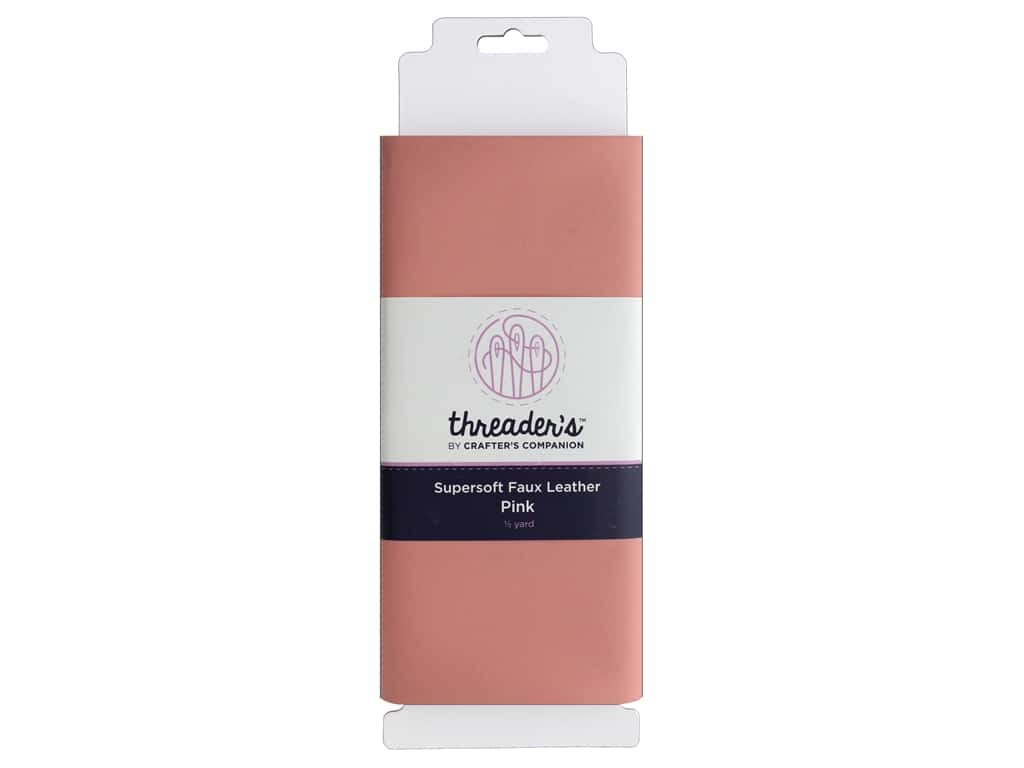 Crafter's Companion Threaders Faux Leather Pink
