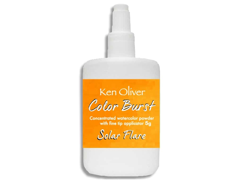 Contact Crafts Ken Oliver Color Burst 5 g Solar Flare