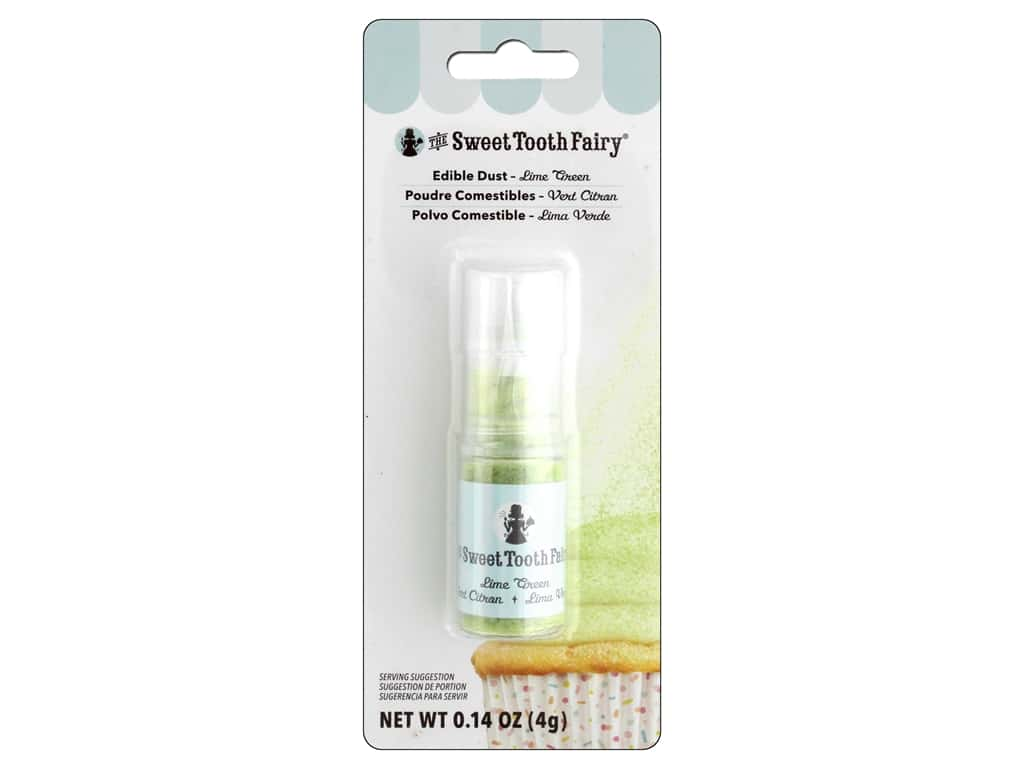 American Crafts Sweet Tooth Fairy Dust Pump .14oz Lime Green