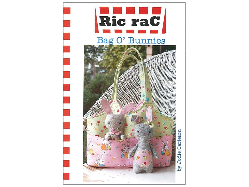 Ric Rac Bag O Bunnies Pattern