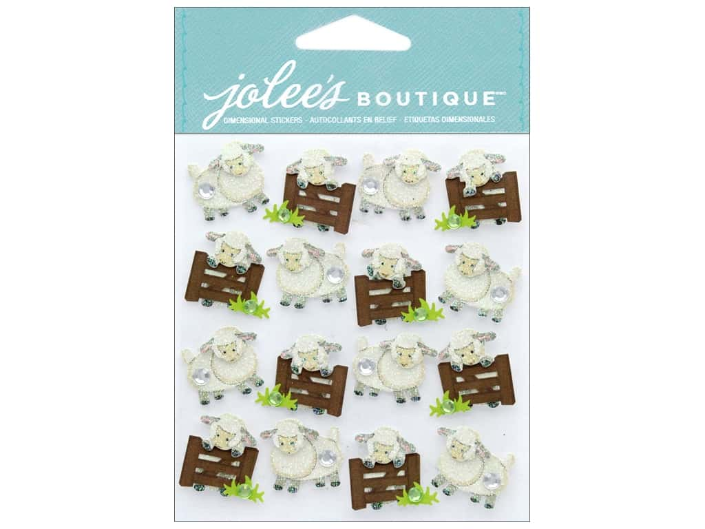 Jolee's Boutique Stickers Repeats Sheep