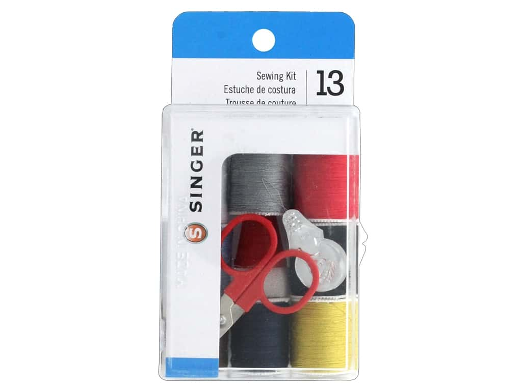 Singer Sewing Kit 8 Spool Thread