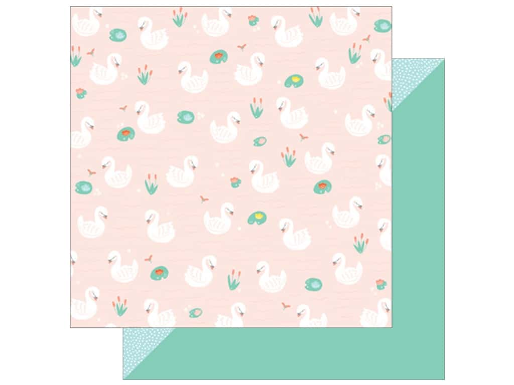American Crafts Collection Dear Lizzy Stay Colorful Paper 12 in. X 12  in. Zooky Zooky (25 pieces)