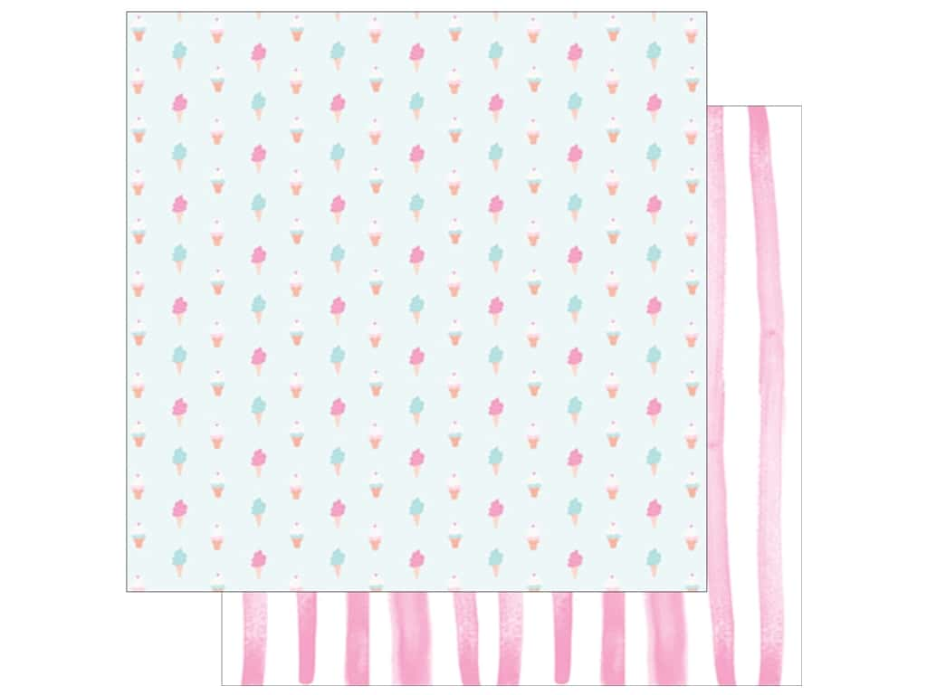 American Crafts Dear Lizzy 12 x 12 in. Paper Stay Colorful Sweetness (25 pieces)