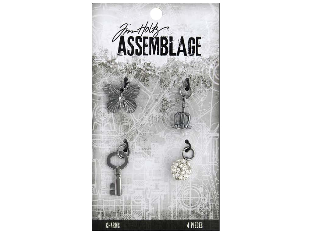 Tim Holtz Assemblage Charms Monarch
