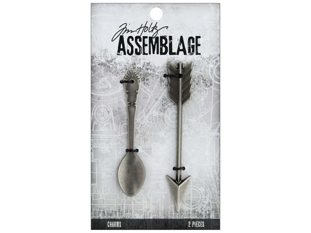 Tim Holtz Assemblage Charms Spoon And Arrow