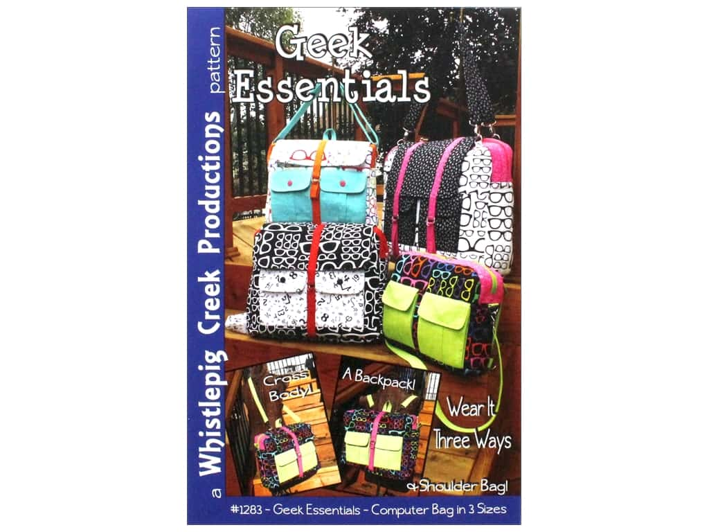 Whistlepig Creek Productions Geek Essentials Pattern