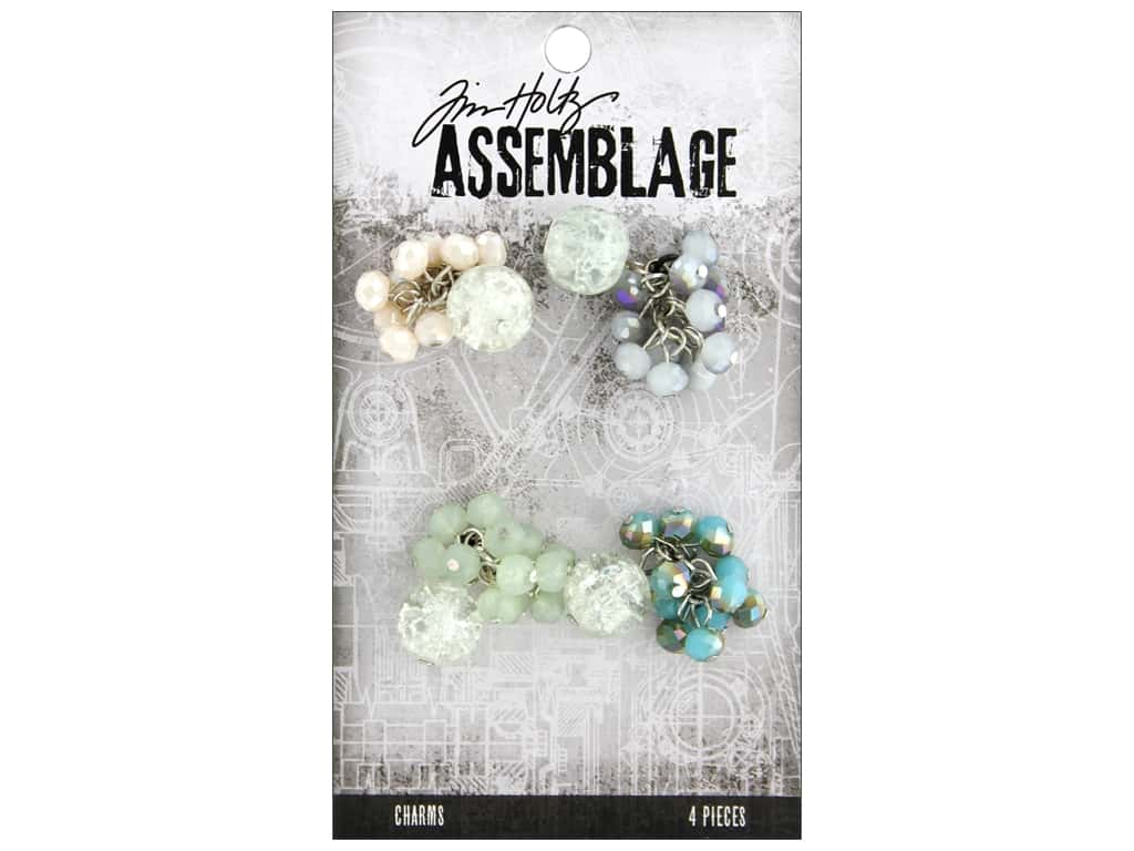 Tim Holtz Assemblage Charms Beaded Clusters