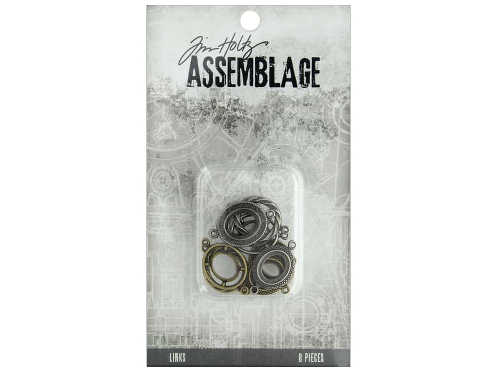 Tim Holtz Assemblage Links Ornate Ovals