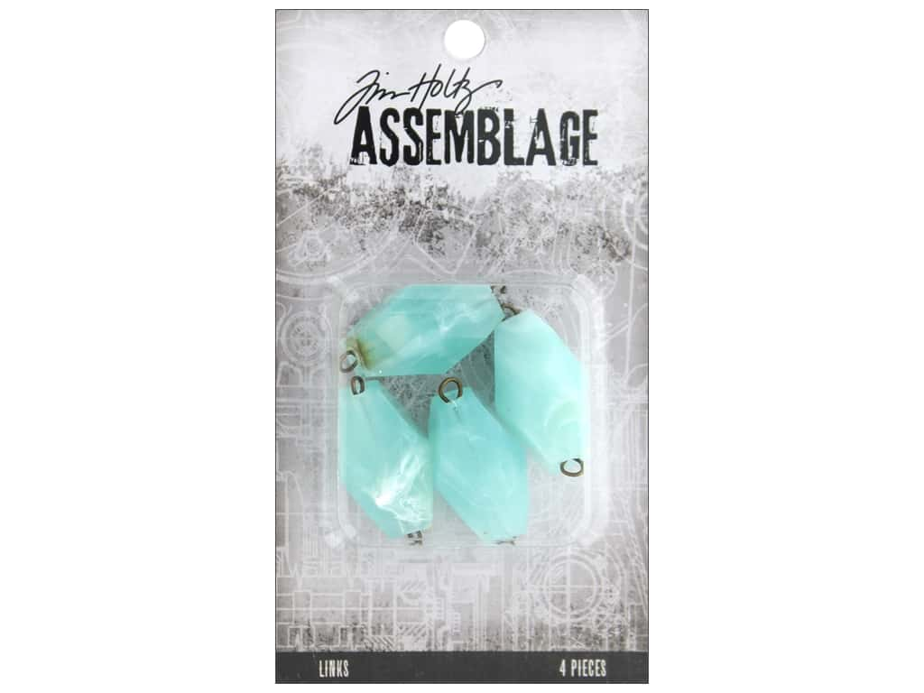 Tim Holtz Assemblage Links Acrylic Seaglass