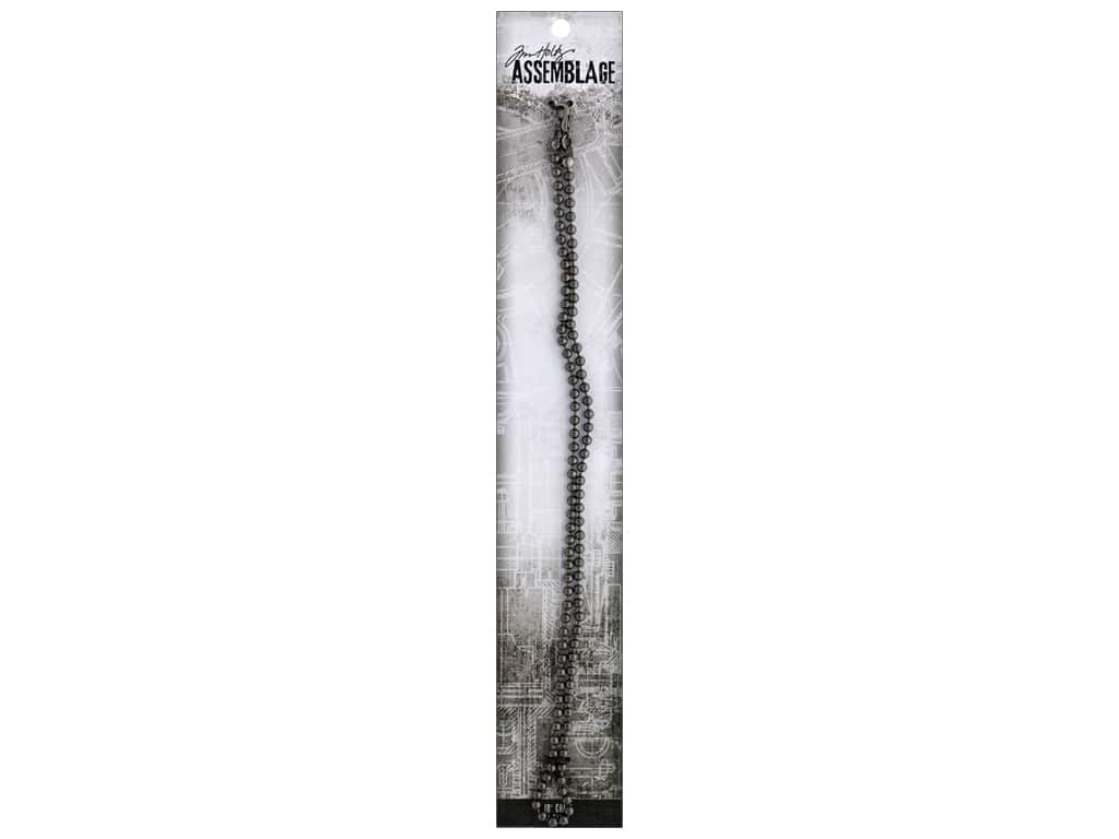 Tim Holtz Assemblage Chain 18 in. Ball Silver
