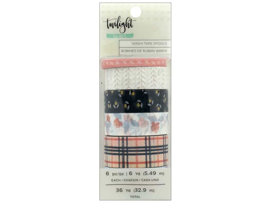 American Crafts Collection One Canoe Two Twilight Washi Tape