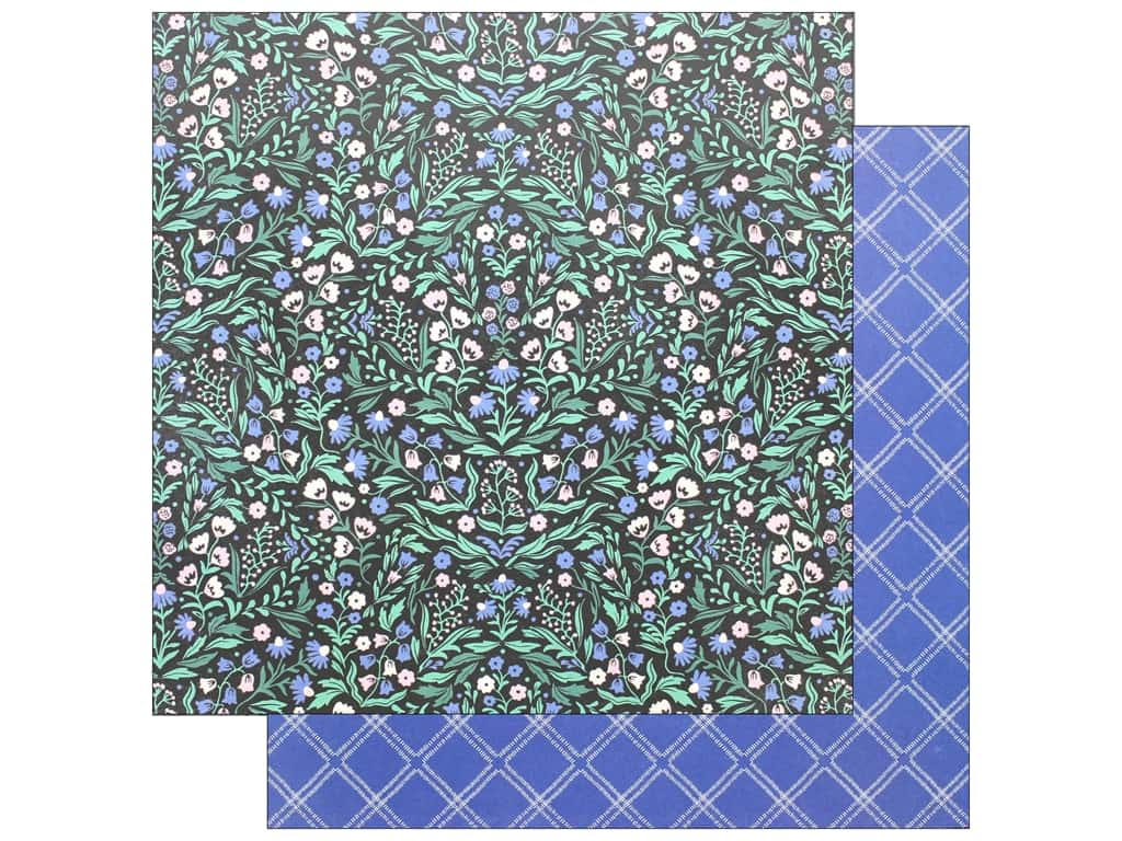 Crate Paper Collection Maggie Holmes Flourish Paper 12 in. x 12 in.Emma (25 pieces)